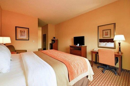 Comfort Inn & Suites Farmington - Victor: King Room