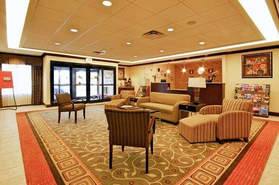 Comfort Inn & Suites : Lobby