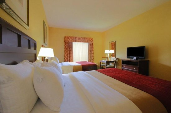 Comfort Inn & Suites: Queen Room