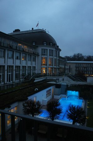 Dorint Park Hotel Bremen: view from our room