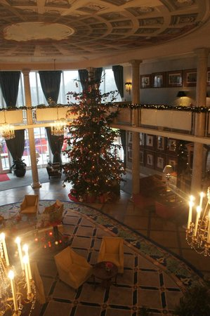 Dorint Park Hotel Bremen: Christmas decorations in the Cupola Room