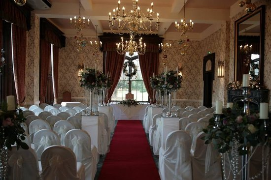 Rowton Castle: Prior to the ceremony