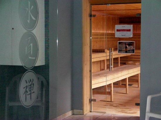 Atlanthal : Le sauna