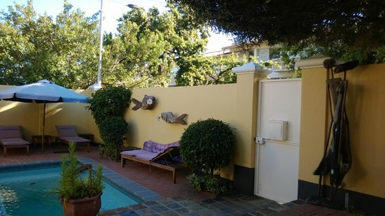 Tom's Guest House: Garten