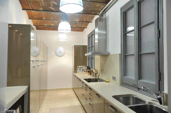 Quartprimera Apartments : Zonas Comunes - Cocina
