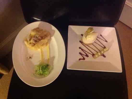 Milsoms Kesgrave Hall : dinner