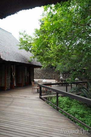 Singita Boulders Lodge: Main Area near Lobby