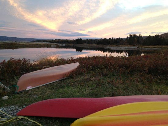 Cabot Shores Wilderness Resort : sunset