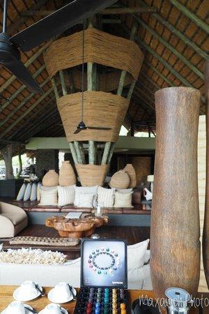 Singita Boulders Lodge: Main Lounge