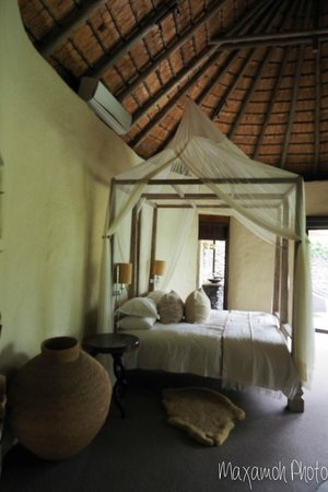 Singita Boulders Lodge: Main Bedroom