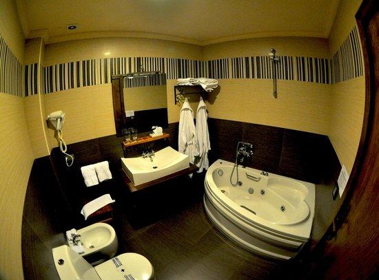 La Posada del Casar: Baño Habitación 7
