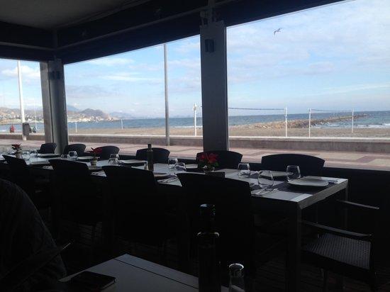 Restaurante Brel: covered terrace