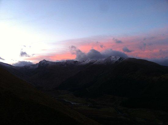 Lochaber Guides - Private Day Tours: Winter sunrise in Glen Nevis