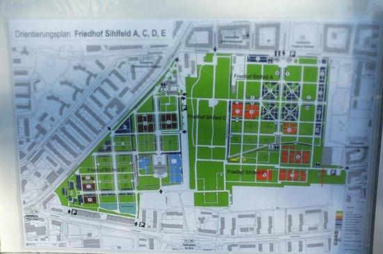 Friedhof Sihlfeld: Übersicht