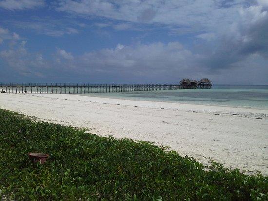 Dongwe Club: spiaggia e pontile riservati