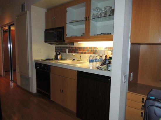 Squaw Valley Lodge: Mini cozinha