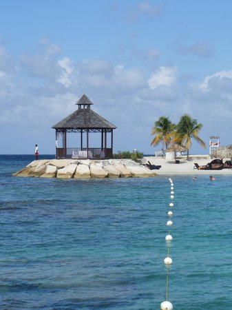 Secrets Wild Orchid Montego Bay: The Wedding Gazebo by the Preferred Beach