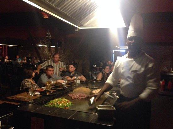 Occidental Caribe: Japanese restauraunt