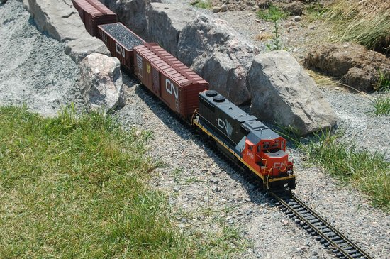 Northern Ontario Railroad Museum & Heritage Centre: NORMHC G-Scale Train