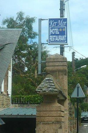 Hotel Restaurant Ker Mor: Perros-Guirec: Francia: insegna