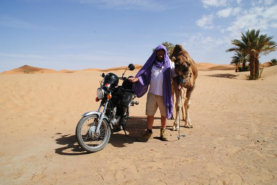 Merzouga Desert House: DESIERTO DE ERG CHEVI