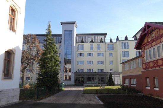 Alpha Hotel Hermann von Salza: Alpha Hotel Haupteingang