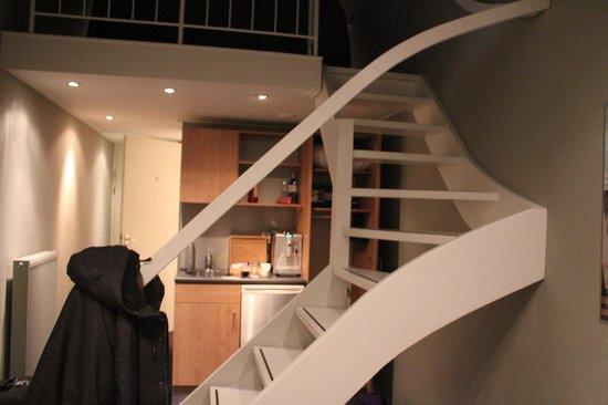 Van Heeckeren Hotel: downstairs-kitchen
