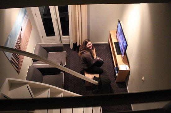 Van Heeckeren Hotel: living room
