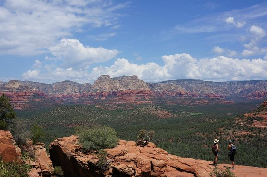 Devil's Bridge Trail: View from the top