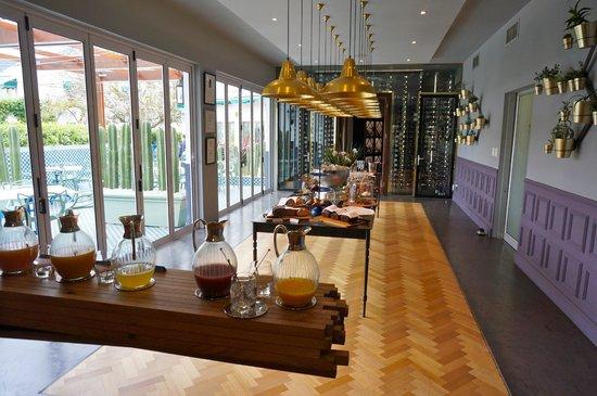 Majeka House : petit déjeuner