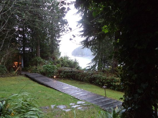 Duffin Cove Oceanfront Lodging : View from room