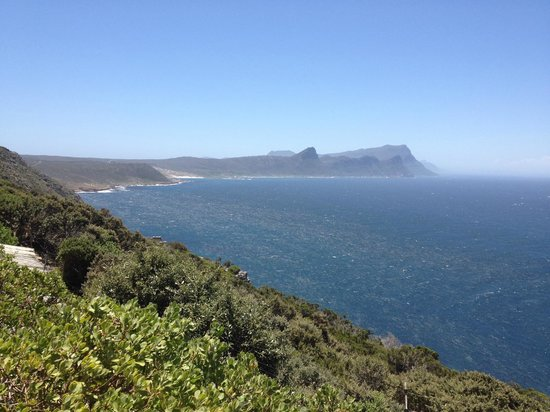 Cape of Good Hope: At Cape Point SA.