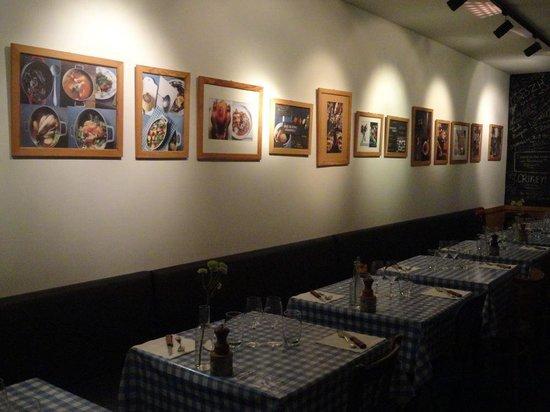 Ripailles : La salle de restaurant