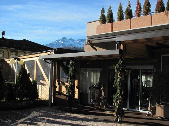 Parc Hotel Du Lac: Ingresso