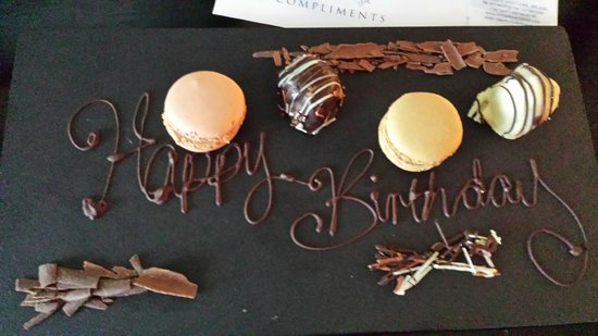 Inchydoney Island Lodge & Spa : Happy Birthday in Chocolate