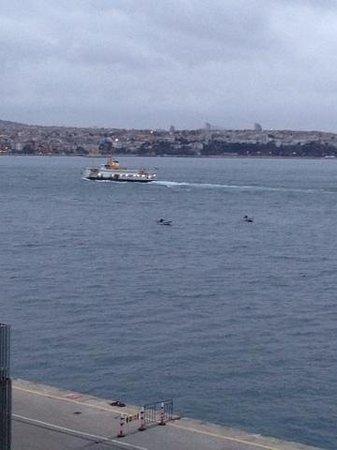 Karakoy Port Hotel: Bosphorus