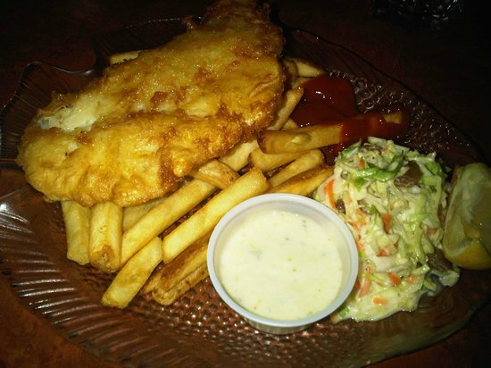 Sockeye City Grill Seafood Restaurant: Fish and Chips