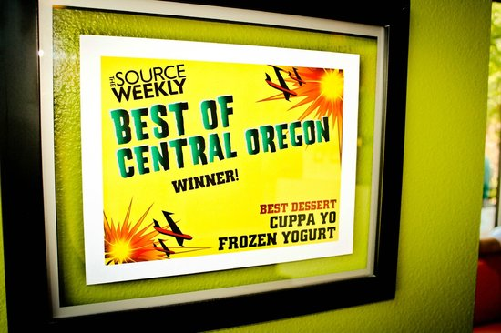 Cuppa Yo: Voted Central Oregon's Best since 2010