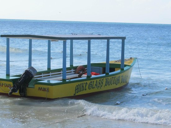 Mike's Glass Bottom Boat: Mike Glass bottom boat