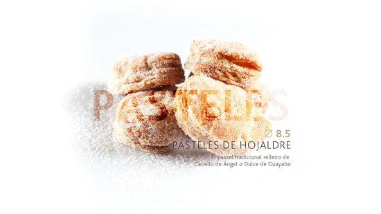 Boutique Relieve: Pasteles de Hojaldre