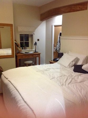 Losehill House Hotel & Spa : our room