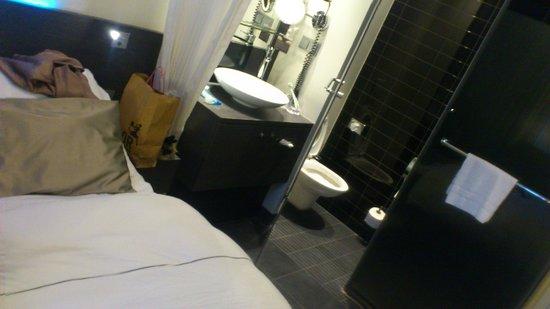Park Hotel Amsterdam: room/toilet/shower