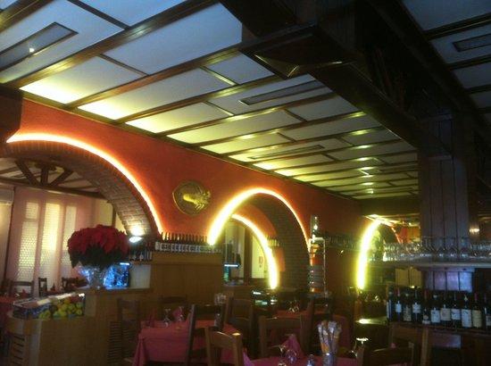 Al Bucaniere: la sala ristorante