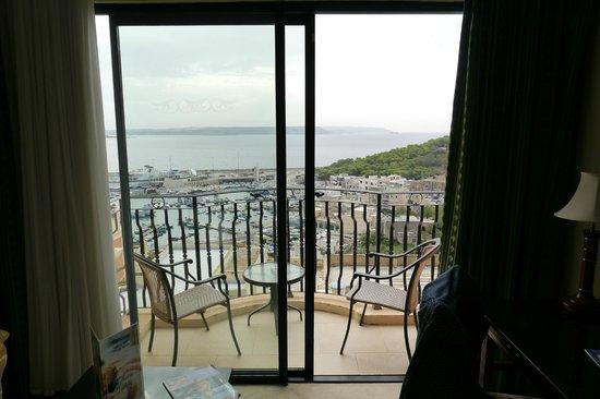 Grand Hotel Gozo: small balcony