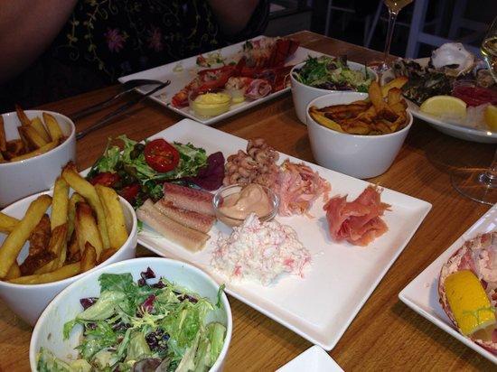 "The Seafood Bar : Plateau ""Seafood bar"""