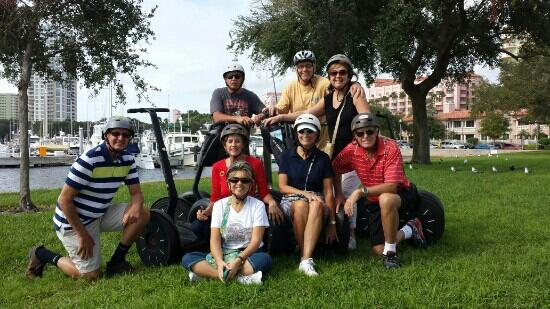 St. Petersburg Segway Tours : photo op by marina.