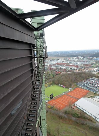 Gasometer Oberhausen : View from the roof