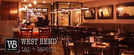 West Bend tap + tavern: West Bend tap and tavern