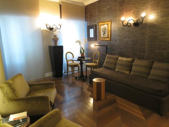 Palazzo Manfredi - Relais & Chateaux : Hotel Lobby