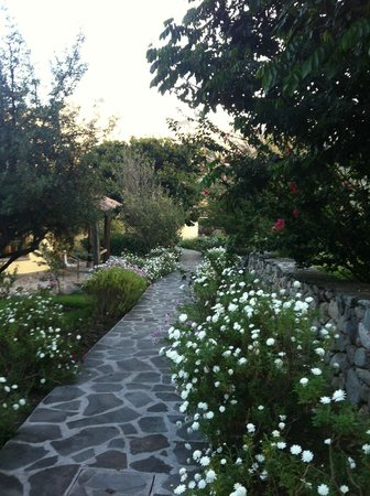 Sol y Luna - Relais & Chateaux : цветущий сад вокруг